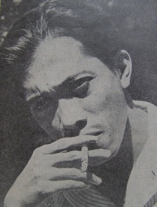 "Classic Picture of Chairil Anwar: ""My Smoke and I"""