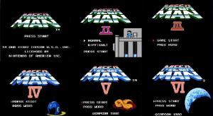 Mega Man I -VI