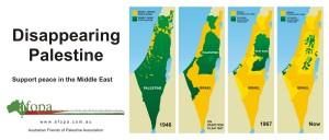 Disappearing Palestine - Palestina yang Menyusut dan Kian Menghilang (credit: Australian Friends of Palestine Association)