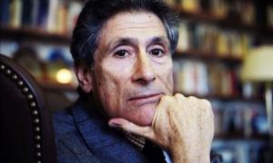 Foto Edward Said di tahun 2003, tahun ia meninggal (Credit: Jean-Christian Bourcart/Getty Images)