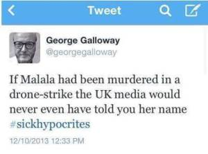 George Galloway Tweet