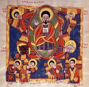 Gambar Yesus ala Ethiopia (Credit: beliefnetbuzz)