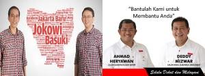 Jokowi-Ahok & Aher-Deddy