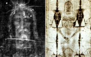 The Shroud of Turin (Credit: EPA)