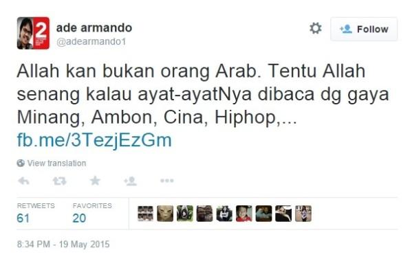 Kasus Ade Armando