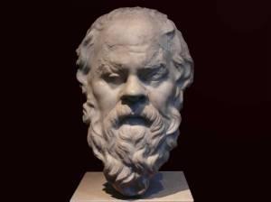 Socrates, Filsuf Yunani yang Dihukum Mati dengan Meminum Racun Ramuan Hemlock (credit: John Potter and Steve Roushakes, newschoolva.com)