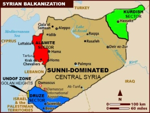 Syria Balkanization diambil dari The 4th Media,