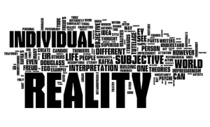 Reality Word Cloud by rachelbinx
