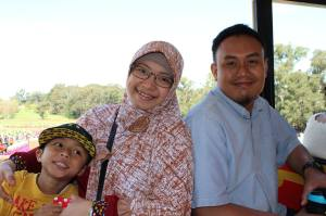 Anakku, Istriku, dan Aku
