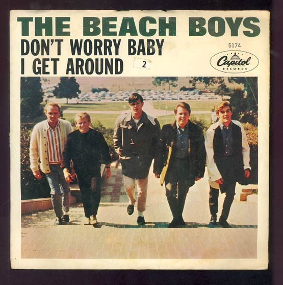 Beach Boys, Don't Worry Baby (United Western Recorders, Hollywood, 1964)